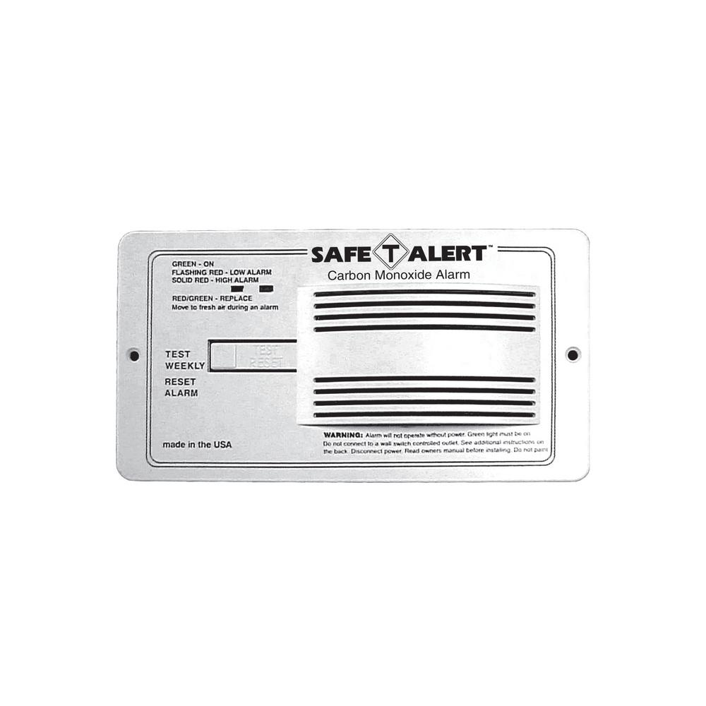 Safe T Alert Carbon Monoxide Alarm Flush Mount in White