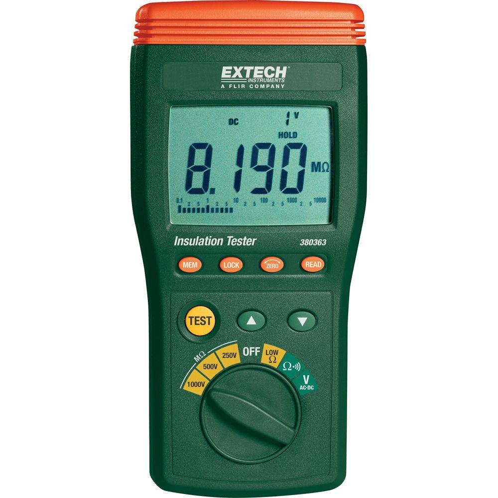 Digital High-Voltage Insulation Tester